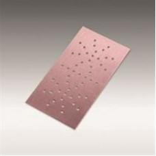 """Siafast sheet 1950 siaspeed (Paper, Aluminum oxide stearate, Pink), grit 120, size 4-1/2"""" X 9"""" (115 X 228 mm) DH-68, 100/pack, 600/case"""