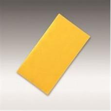 "Siafast sanding strip 1960 siarexx cut (aluminum oxide, yellow), grit 280, size 2-3/4"" X 5"" (70 x 125 mm), 100/pack, 600/case"
