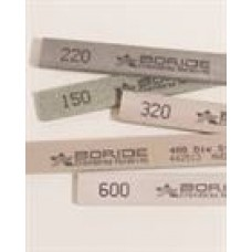 Boride polish stone AM-2, size 1/2x1x6, grit 220, 12 per pack, cost each
