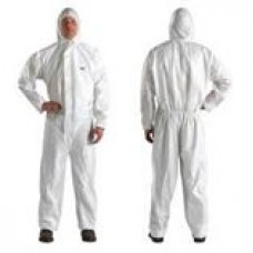 3M™ Disposable Protective Coverall Safety Work Wear 4510-BLK-M 25 EA/Case, cost per case