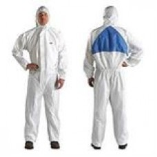 3M™ DISPOSABLE PROTECTIVE COVERALL SAFETY WORK WEAR, 4510, 4520, 4530, 4540+, LARGE, 25 PER CASE, COST PER SUIT---discontinued, replacement is available