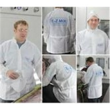 ANTI-STATIC LAB COAT, LARGE SIZE, CODE 64446W, COST PER PACK