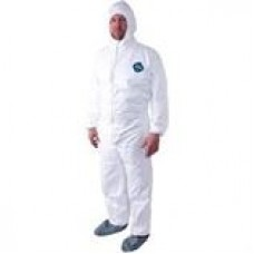 Dupont Tyvek Hooded Suit, XL, TY127s, 25/Case, cost per case