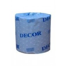 BATH TISSUE 48/420, 4043  DECOR   2 PLY, cost per case