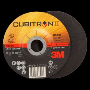 3M NEW CUBITRON II CUT-OFF WHEEL T27, 6X.045X7/8 IN 50/CS, COST PER WHEEL