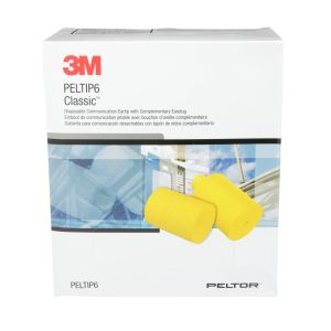 3M™ E-A-R™ Classic™ Disposable Communication Eartips, PELTIP6, for 3M™ Peltor™ HearPlug